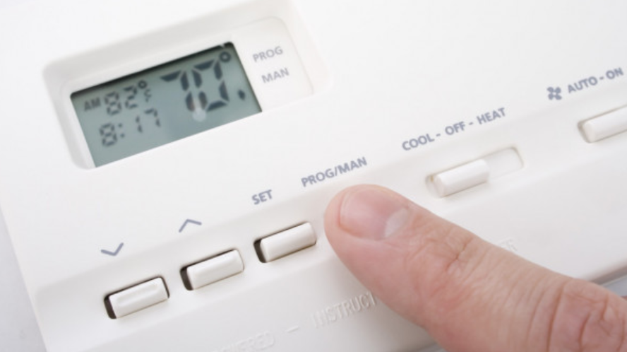 Setting Programmable Thermostat