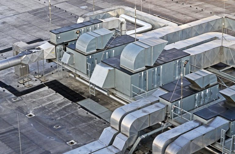 Commercial HVAC sheet metal